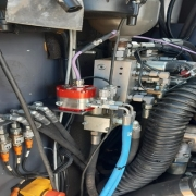 Spectrolytic install MIRS-T-V oil condition sensor into Industrial Vehicle